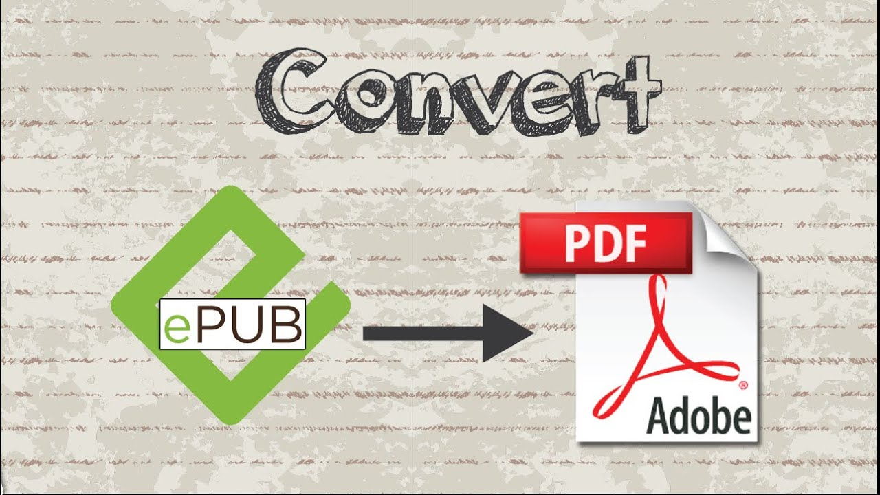 convert epub to pdf without losing format